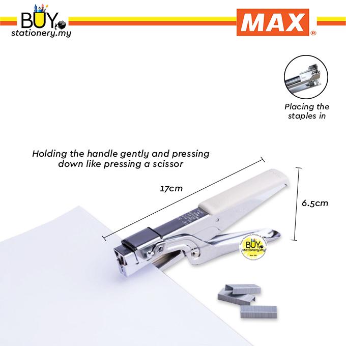 Max Pliers-Type Stapler HP-10 (PCS)