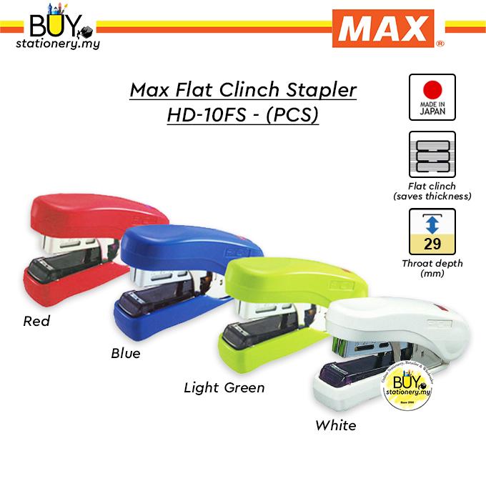 Max Flat Clinch Stapler HD-10FS (PCS)