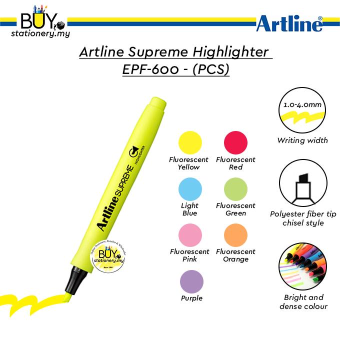 Artline Supreme Highlighter EPF-600  (PCS)
