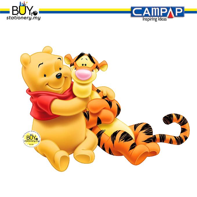 CAMPAP Mini Magazine Holder Winnie the Pooh - (2s/PCS)