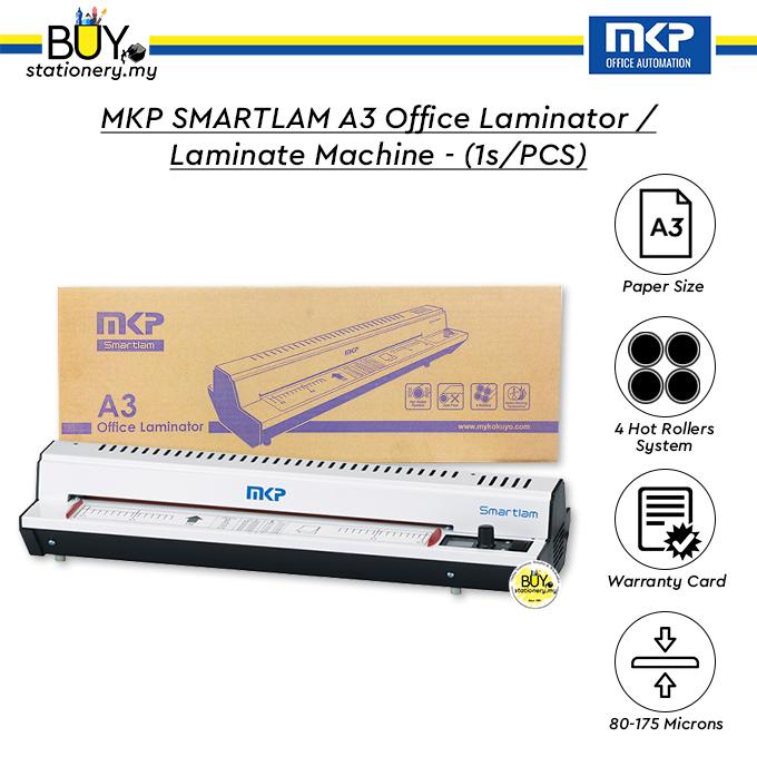 MKP Smartlam A3 Office Laminator / Laminate Machine with 12 Month Warranty - (1s/PCS)