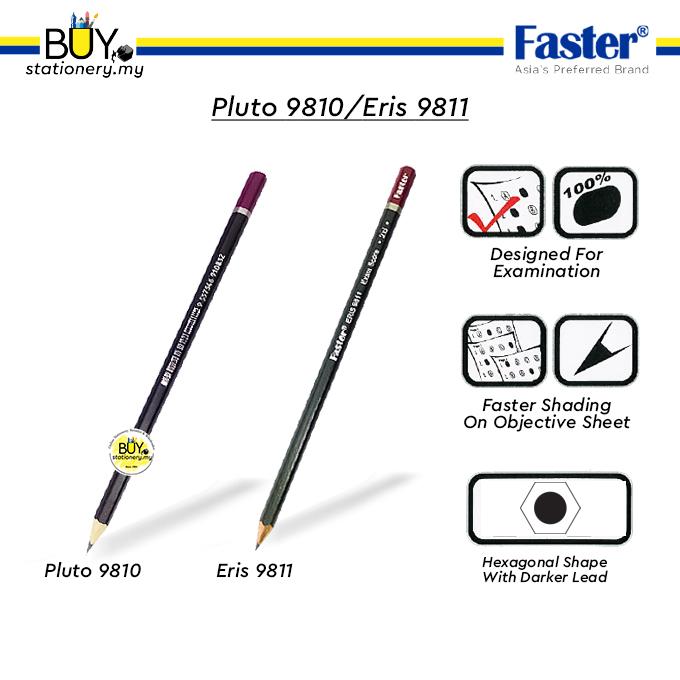 Faster 2B Pencil Pluto 9810 /Eris 9811 - (12s/DZ)