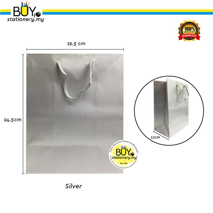 Paper Bag Plain Colour Collection - (PCS)