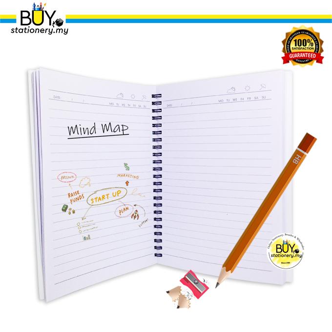 Notebook PVC Cover Fancy B5/A5/A6 - (PCS)