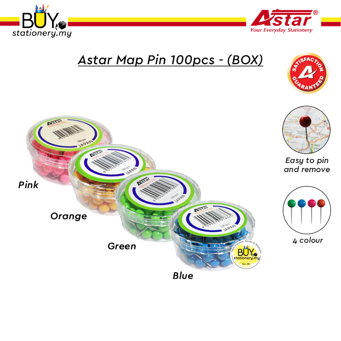 Astar Map Pin 100pcs (BOX)