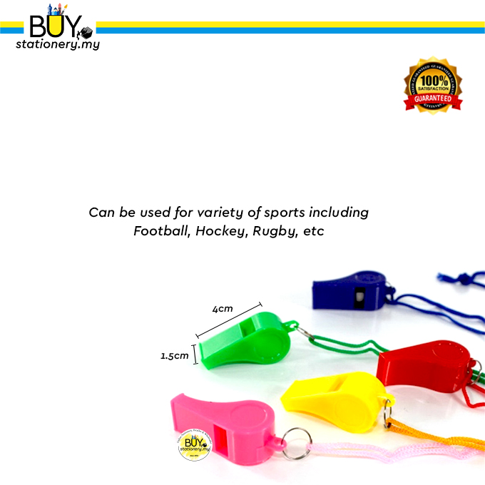 Plastic Whistle with String (PCS)